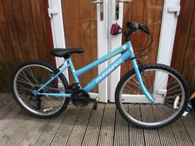 """Muddyfox synergy 24"""" junior girls boy bike 9-12 years"""