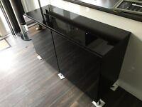 Black High Gloss Sideboard