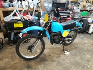 1978 Yamaha IT175 with Blue Plate Ownership