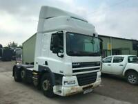 DAF CF 85.460 6x2 MID LIFT SLEEPER TRACTOR UNIT for sale  Wrexham