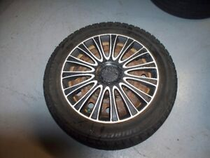 steel rims with winter tires