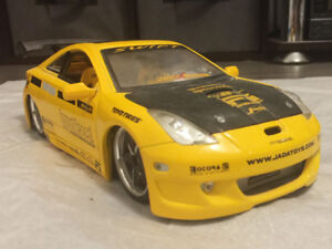 Toyota 2006 Celica Yellow Sport Car