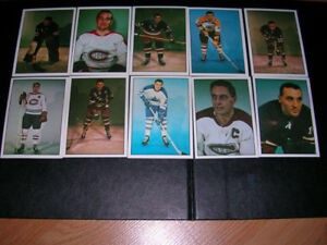 Hockey Cards. Hockey Legend cards  from TCMA Ltd 1981