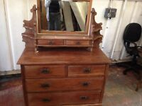 Stunning Old Pine dressing table