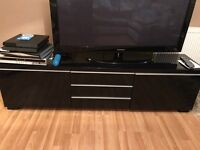 LOVELY BLACK TV STAND FOR SALE