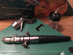 Badger airbrush and compressor