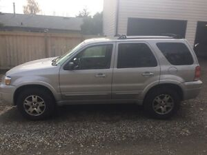 2005 Ford Escape limited AWD for sale
