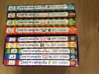 Diary of a Wimpy Kid Books/Dvd's for sale
