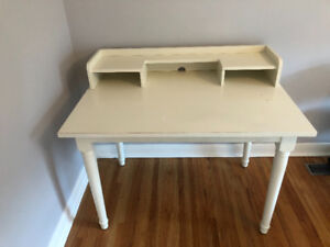 Pottery Barn Solid Wood Desk