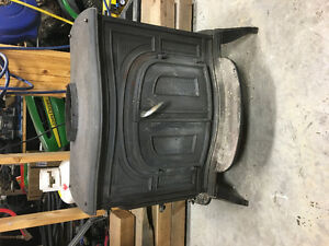 Scandia cast iron woodstove