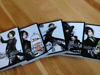 Manga books: Black Butler, Mixed Vegetables and other