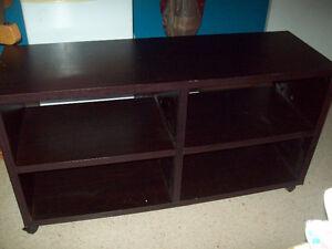 Black Stand with shelfs
