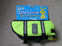 Brand new XSmall dog life jacket