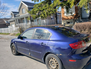 Mazda 3 for sale engine is good