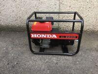 Honda Ec2200 petrol generator