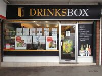 Closed unit for sale - fixtures and fittings included for Off Licence