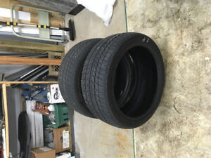 245/40R/19 and 255/40R/19 M+S Tires