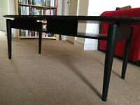 FREE black oval coffee table