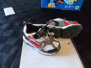 infant boys cars sneakers size 6