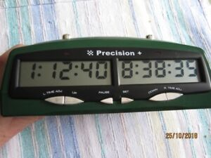 Chess competition Digital Clock