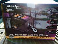 Master Lock Portable Winch. NEW IN BOX