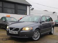 2008 Volvo V50 2.0D Turbo Diesel SE LUX Geartronic 6 Speed Auto Estate Full Leat