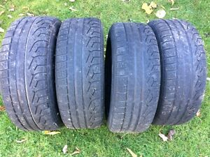 BMW Winter tires and rims 205 55 R16