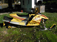 ski doo mxz x 800 edition blair morgan 2004