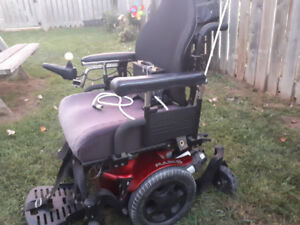 Pulse 6 series Electric Wheelchair. Text or lrockopolo@gmail.com