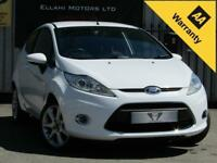 Ford Fiesta ZETEC 1.25L 3 Door Manual Petrol 2012