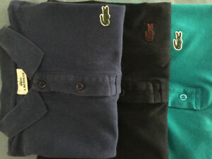 Collection Été Polo Lacoste S 70$