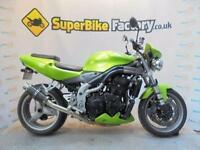 2002 02 TRIUMPH SPEED TRIPLE 955I