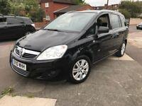 Vauxhall Zafira 1.6 16V VVT DESIGN 115PS (black) 2010