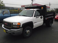 2006 GMC one ton dump