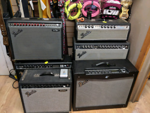 Fender amps. Used and Vintage. Hands on Music Co. Bowmanville