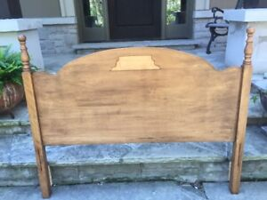 Antique Maple Double Headboard