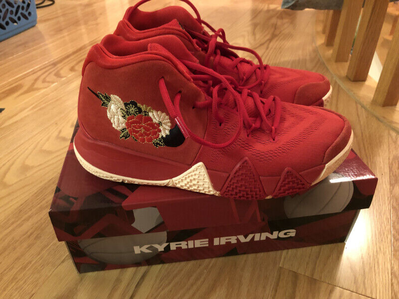 save off 979b4 94661 NIKE KYRIE 4 CHINESE NEW YEAR SPECIAL EDITION Size 8.5