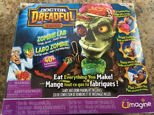 Dr.Dreadful Zombie Lab & Martian Matter Alien Lab and Spaceship