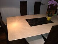 Marble top Dinning table for sale