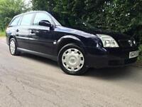2004 Vauxhall Vectra 2.2i 16v LS Estate, 114k miles, MOT 07/17, Good Drive