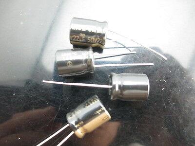 Japan 10pcs Elna Rfs Silmic Ii 22uf 50v 22mfd Audio Capacitor New Diy Hifi