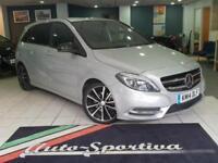 2014 Mercedes-Benz B Class 1.5 B180 CDI Sport 7G-DCT 5dr Diesel silver Automatic