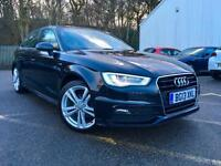 13 Audi A3 2.0 TDI S LINE+BIG SPEC+BIG SAT NAV+FULL LEATHERS+HEATED SEATS+
