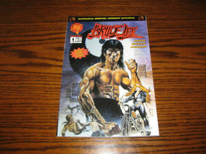 Bruce Lee number 1 Malibu Comics July 1994