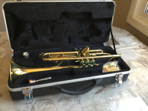 Gently Used Trumpet