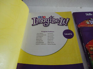 SRA Imagine It 4th grade textbook & skills practice 1 and 2 work London Ontario image 2