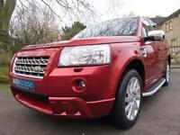 2010 Land Rover Freelander 2 XS TD 4 Diesel Manual In Rimini Red