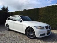 2011 61 BMW 3 SERIES 2.0 320D SPORT PLUS EDITION TOURING 5D AUTO 181 BHP DIESEL