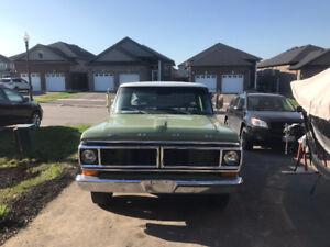 1970 f100 302 auto long box
