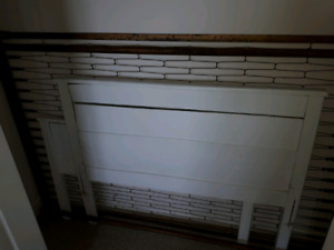 Old 3/4 Inch Bed and Mattress